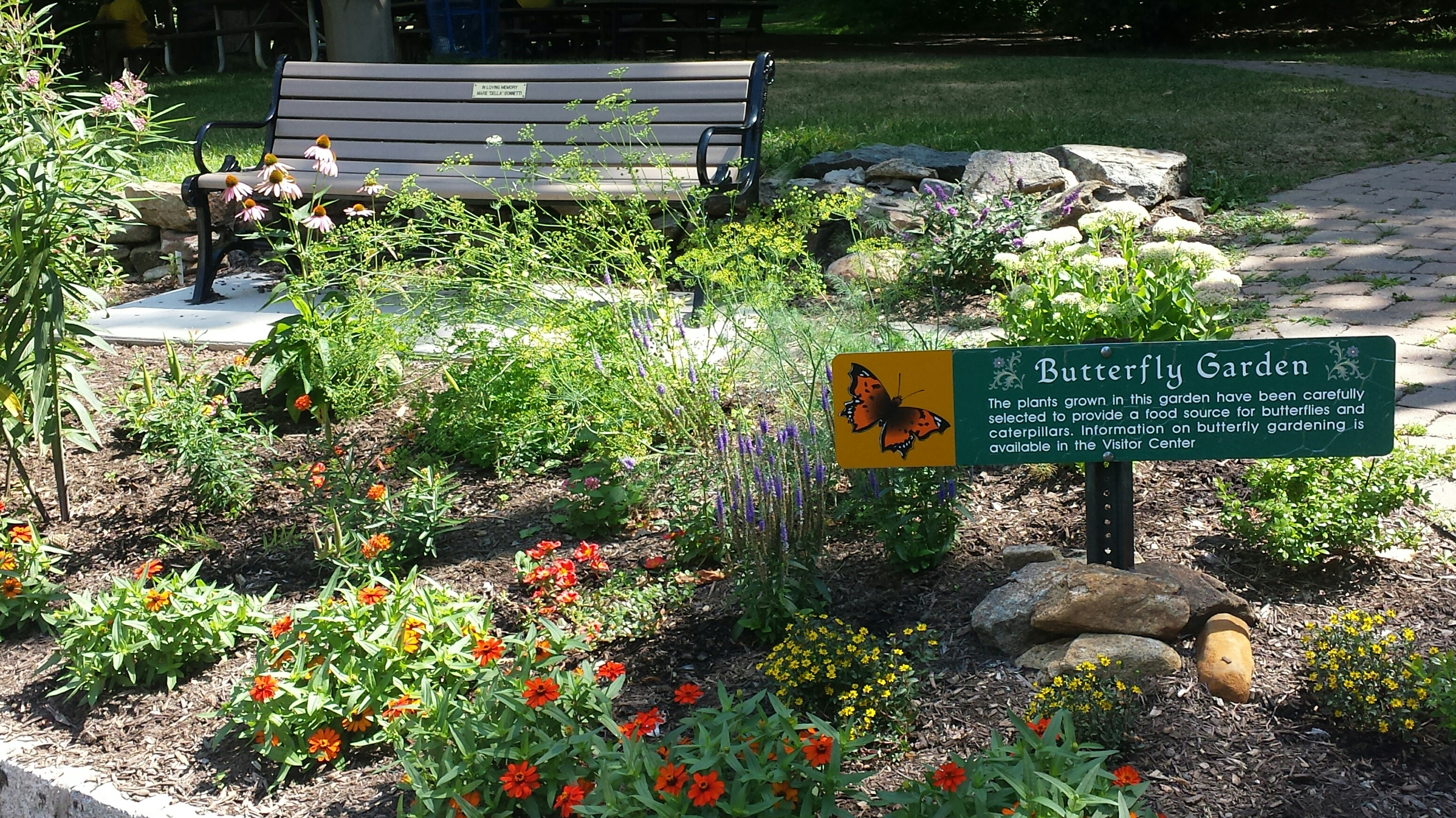 Butterfly garden county of union new jersey for Landscape gardeners