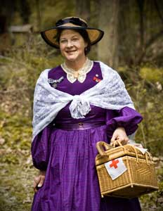 MOUNTAINSIDE, NJ – Adults, ages 18 & older, are invited to join Pat Jordan, of the American Historical Theatre, as she interprets the life of Clara Barton at Trailside Nature and Science Center on Thursday, Oct. 23 from 7:15 to 8:15 p.m. This engaging program offers another window into the trauma of the Civil War from the point of view of a remarkable woman who organized the American Red Cross. Pre-registration is required as space is limited; walk-ins will be accommodated if space permits. There is no fee for the program; it is sponsored in part by the New Jersey Council for the Humanities.  For additional information about adult programs or upcoming events at Trailside, call 908-789-3670 or visit www.ucnj.org/trailside for a complete fall brochure. Trailside Nature and Science Center is located at 452 New Providence Road in Mountainside and is a service of the Union County Board of Chosen Freeholders.