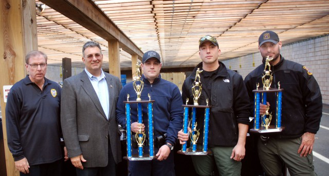 The Winners of the 4th Annual Union County Sheriff's Pistol Competition