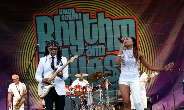 Union County NJ Nile Rogers and Chic R&BBB