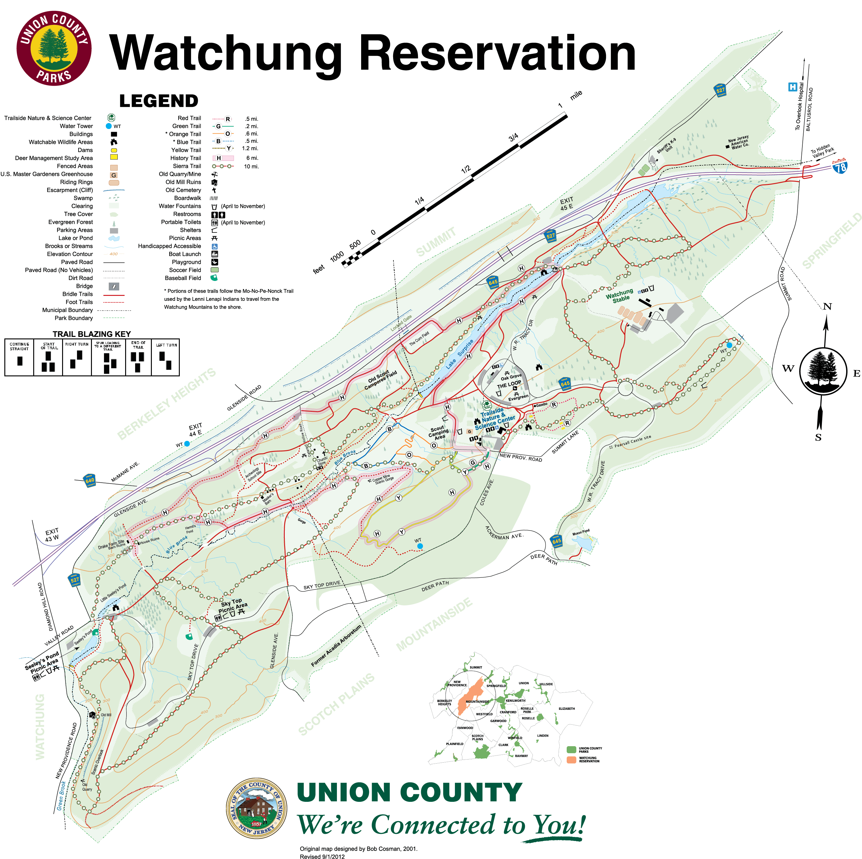 Watchung Reservation – County of Union, New Jersey on