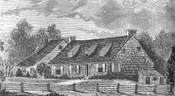 Parsonage and addition 1765