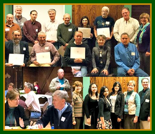 Union County NJ adopt a park awards photo collage