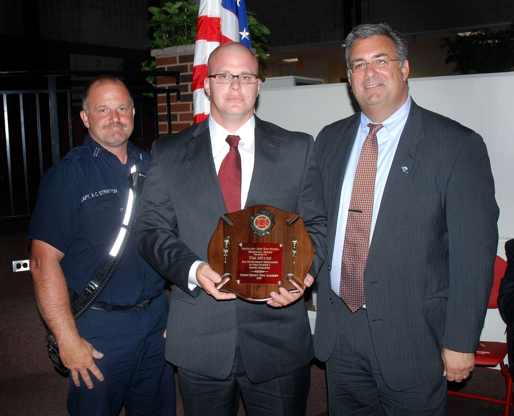 New jersey union county cranford - Tim Meyer Of The Cranford Fire Department