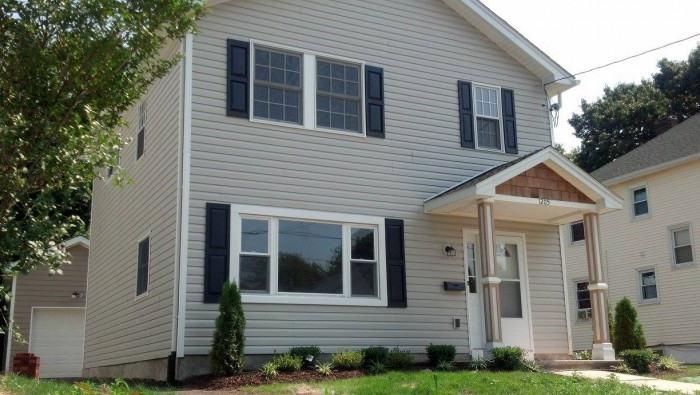 """Habitat for Humanity builds """"simple and decent"""" homes affordably for families in need, such as this one on West Fourth Street in Plainfield."""