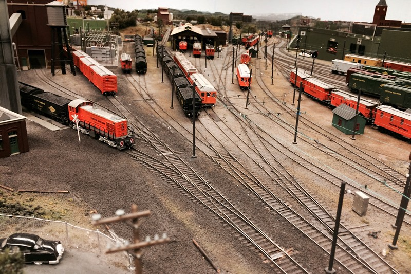 model trains Union County NJ
