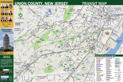 Transit Maps – County of Union, New Jersey