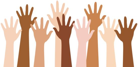Hands Raised (free clipart) for RCC