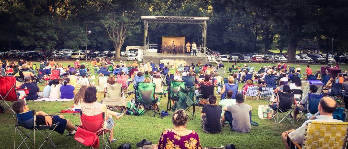 2015 Shakespeare in the Park's Next Stage Ensemble's performance of ROMEO AND JULIET
