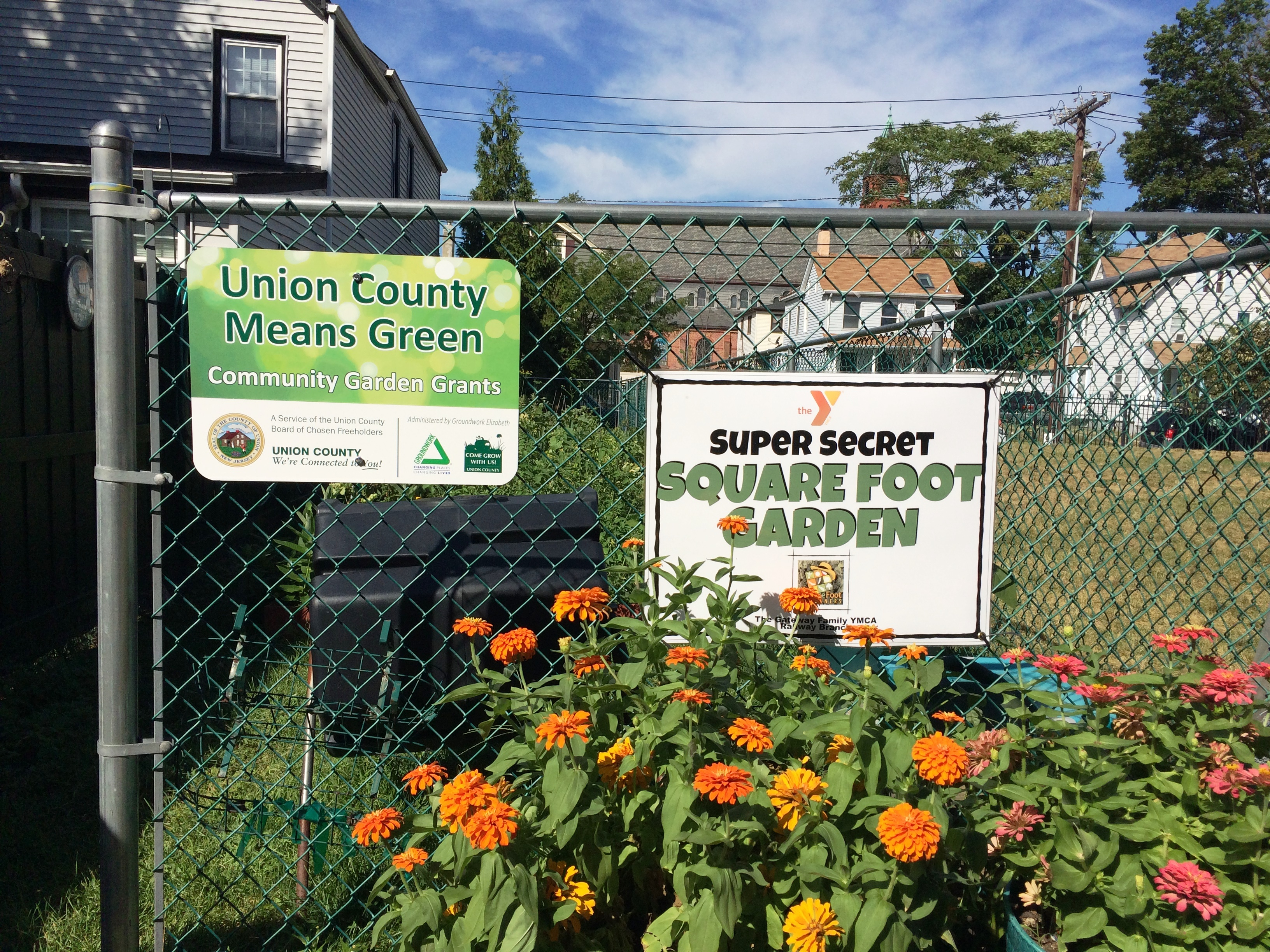 2016 Union County Means Green Community Garden Grant Awardees