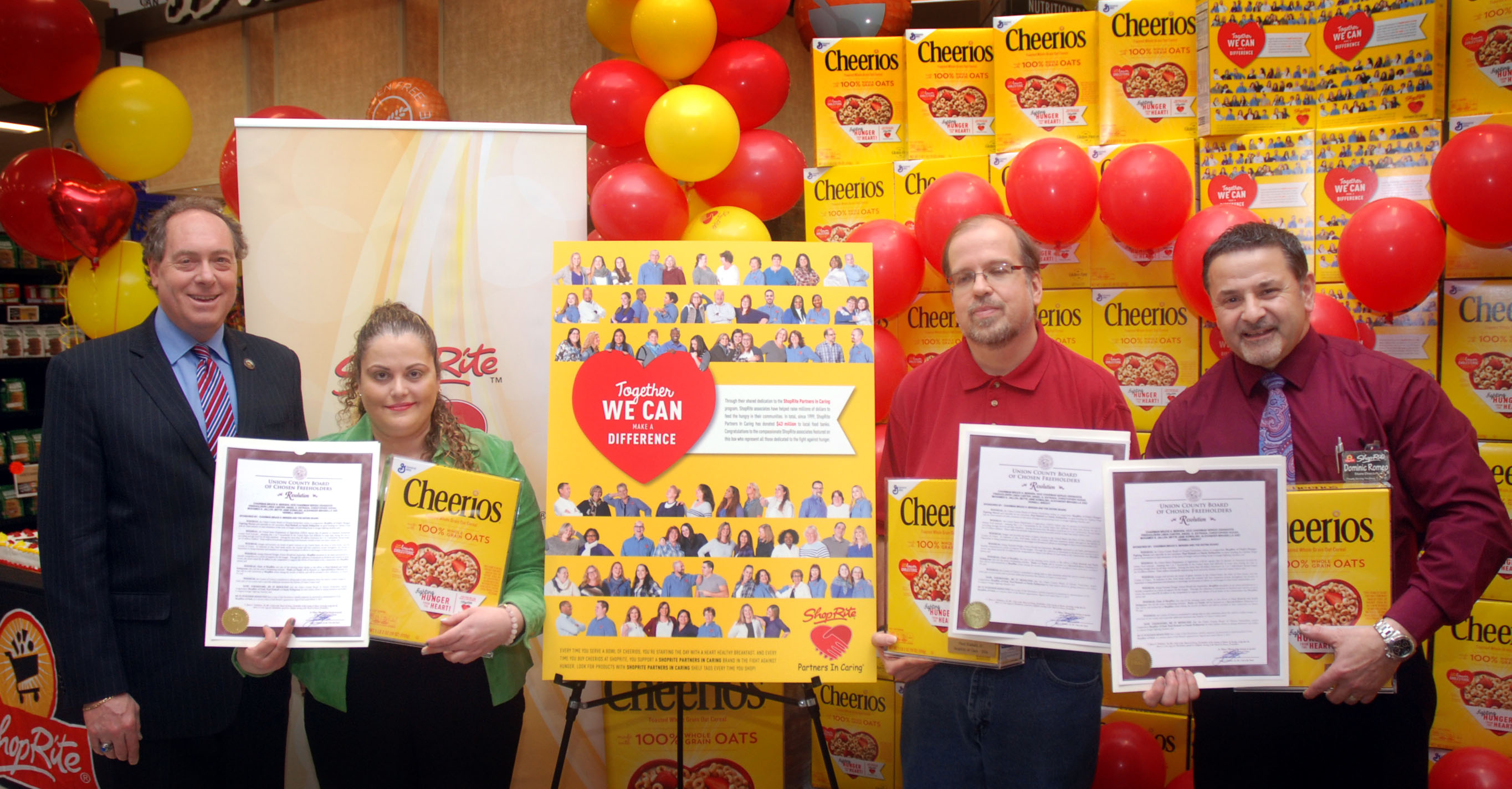 Clark shoprite recognized for fighting hunger county of union clark shoprite recognized for fighting hunger falaconquin