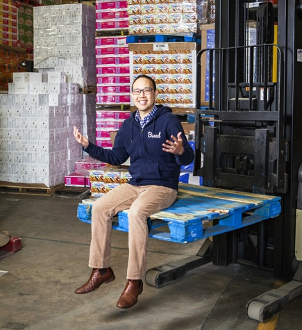 Chieh Huang, co-founder and CEO of Boxed