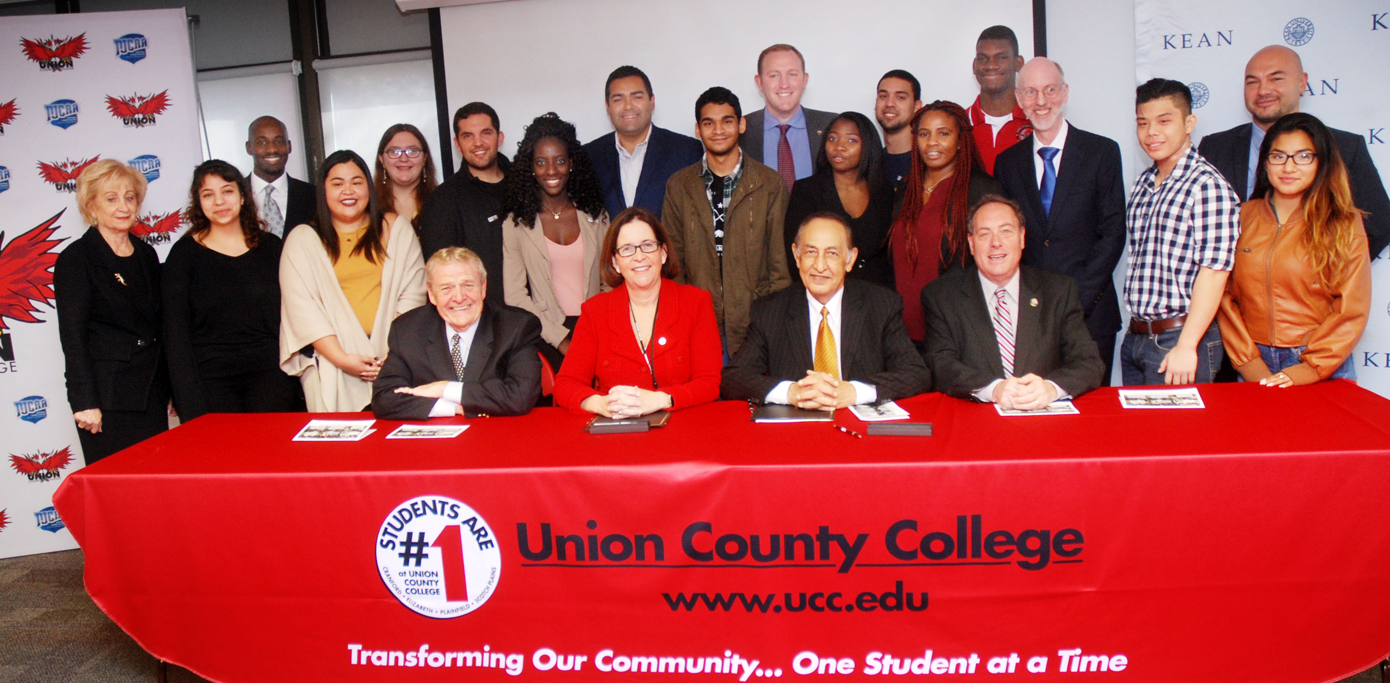 Union County College And Kean University Sign Joint Admission