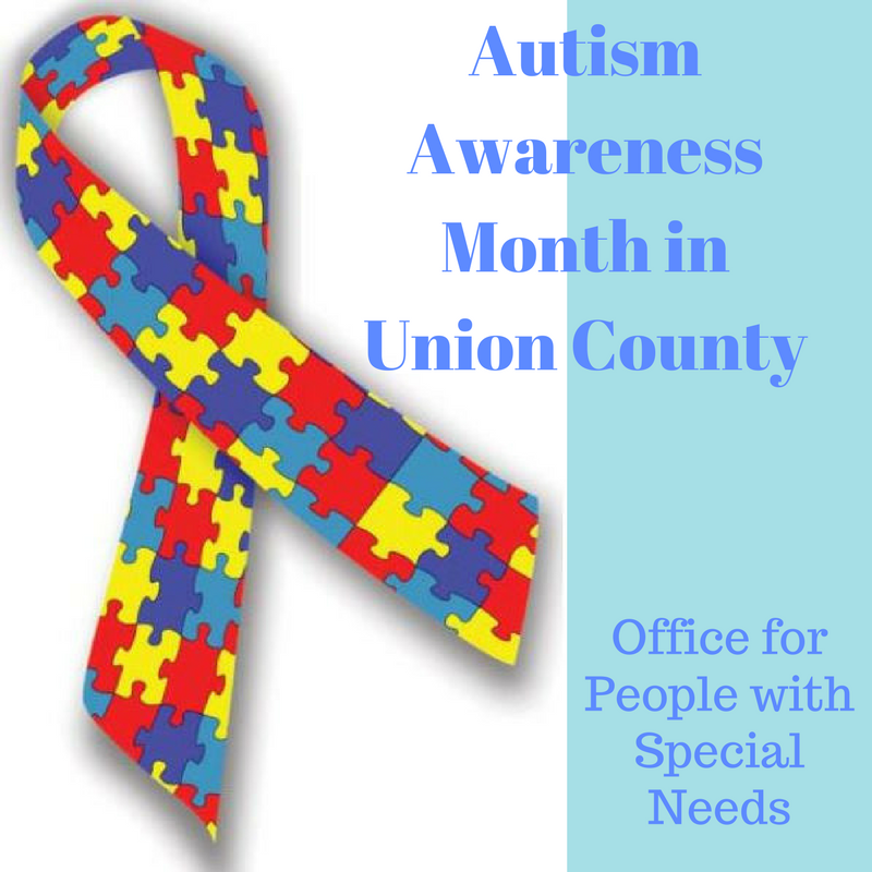 Union County Freeholders Support Autism Awareness Month County Of