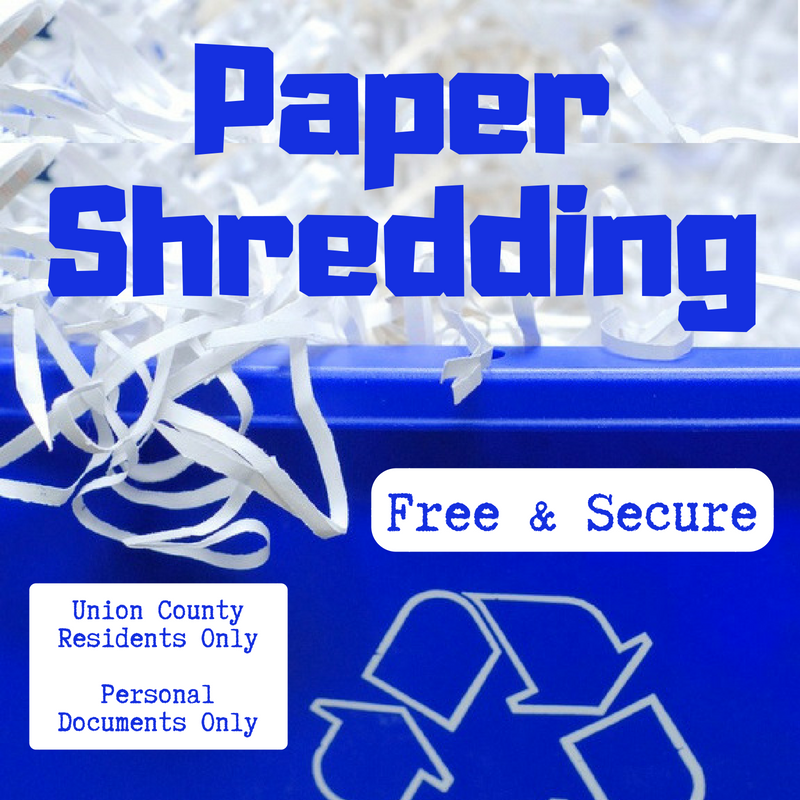 Union County's Free Mobile Paper Shredding Program Coming to