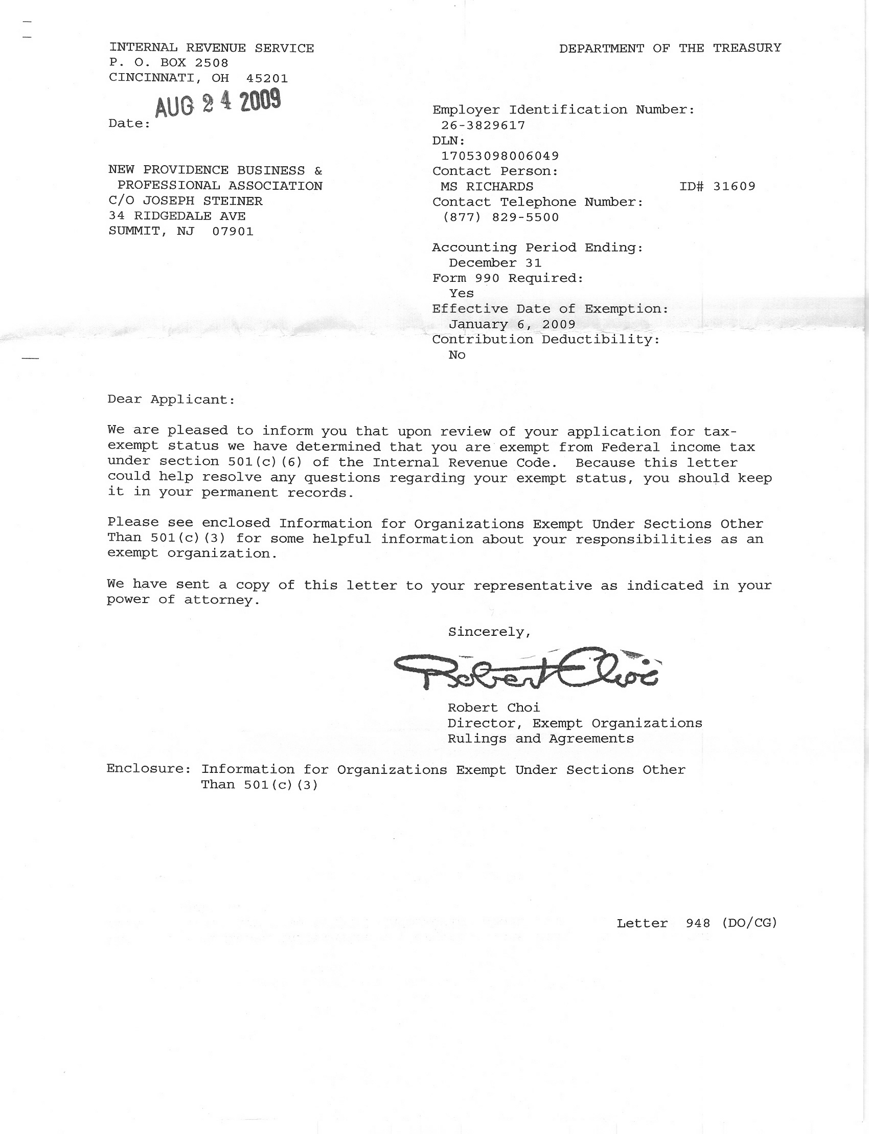 Irs determination letter county of union new jersey irs determination letter falaconquin